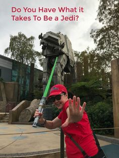 Do you have what it takes to be a Jedi? - Travel With The Magic - Amy@TravelWithTheMagic.com