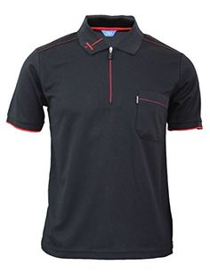 BCPOLO Men's functional Golfwear Polo zipper Sports T-shirt Daily Polo shirt-black XS BCPOLO http://www.amazon.com/dp/B00RWK6GU4/ref=cm_sw_r_pi_dp_lox7ub05C3TFT