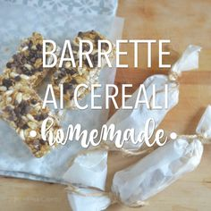 Barrette ai cereali fatte in casa http://www.babygreen.it/2016/09/barrette-ai-cereali-fatte-in-casa/
