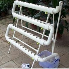Awesome Hydroponics kit with NFT system.