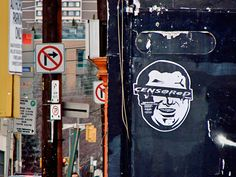 Last winter, he targeted Rob Ford's anti-graffiti bylaws by putting up an effigy of the mayor around town, which ultimately led to a gallery show at Don't Tell Mama.