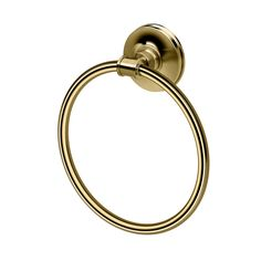 Traditionally elegant and suggesting a classic American spirit, the Montgomery Towel Ring embraces the classic bathroom décor.  Handcrafted to detailed perfection, each piece will reveal its own mark of distinction.