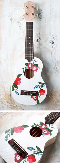 If I can find an old guitar or ukulele I wouldn't feel bad messing up on... Not for my nice ones!!