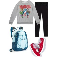 Back-To-School Outfit -  see these people understand the need for comfort