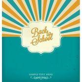 Plakat 60 x 80 cm w ramce - Back To School na Houzee.pl