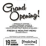 Coffee, juice, smoothie and great food tasting ☕🍒🍉🌿Come and celebrate with us! #fraichekitchen4217 #lifeisgood #surfersparadise #fresh #lowcarb #superfood #grandopening #celebrate #healthyeating #freshfood #gccoffee #healthyfood #healfylife #locals #fruits #coffeelovers #goldcoast