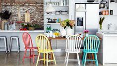 Colourful kitchen revamp