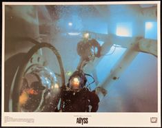 THE ABYSS Original Lobby card from the 1989 James Cameron directed film. Nuclear Submarine, James Cameron, Sale Poster, Film Posters, The Originals, Concert, Shop, Cards, Film Poster