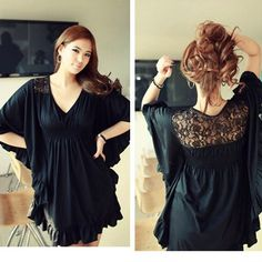 Plus size dresses 2013 summer V neck xxxl dress novelty dresses-inDresses from Apparel  Accessories on Aliexpress.com