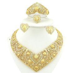 best quality 18k gold jewelry set african jewelry sets african necklace costume jewelry set gold plated jewelry set