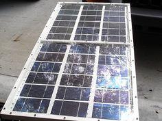 Painel Solar Fotovoltaico Caseiro