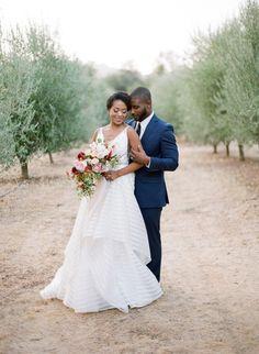 Gorgeous outdoor elopement: http://www.stylemepretty.com/little-black-book-blog/2016/11/01/elopement-inspiration-pops-of-red/ Photography: Samantha Kirk - http://www.samanthakirkphotography.com/