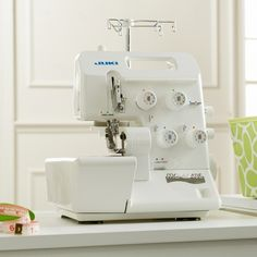Juki MO-654DE 4-Thread Overlock Serger with Electronic Workbook CD at HSN.com