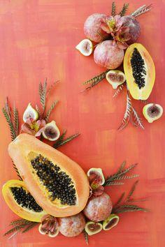 Fesh fruit art, rust