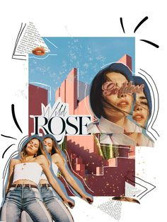 ☆ pin: hanegillespie ☆ Source by angeliaburg collage Collage Kunst, Mode Collage, Aesthetic Collage, Collage Art, Collages, Painting Collage, Graphisches Design, Layout Design, Cover Design