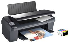 Perfect pang print ng school reports at thesis! (Epson Stylus Printer Scanner All-in-One) Driver Online, Printers On Sale, Printer Scanner, Windows Xp, Mac Os, Stylus, Epson, Thesis, A4
