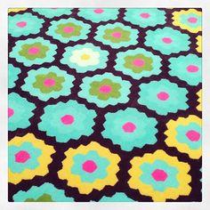 Wendy Morrison's 'crochet' rug.