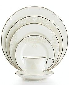 Lenox Opal Innocence Scroll Collection