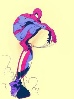 Spider-Man Created by Mike Anderson