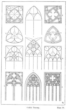 architecture This week Im finishing up work on an aumbry for a future issue of Popular Woodworking Magazine. More than anything, this project has been about exploring Gothic geometry. Gothic Windows, Church Windows, Cathedral Windows, Architecture Drawings, Architecture Details, Ancient Architecture, Modern Architecture, Geometry Architecture, Architecture Panel