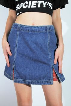 Internet Girl x Goodbye Bread Grunge Goddess Denim Mini Skirt || SHOP NOW: https://www.goodbyebread.com/collections/internet-girl/products/grunge-goddess-denim-mini-skirt #internetgirl #goodbyebread #grunge #goddess #denim #mini #skirt #skater #girl
