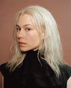 In Phoebe Bridgers's FADER cover story, meet the sweeter, stranger side of an artist you might otherwise think was only sad. Caroline Dhavernas, Pretty People, Beautiful People, Grunge Hair, Hair Inspo, Kurt Cobain, Hair Makeup, Hair Color, Hair Beauty