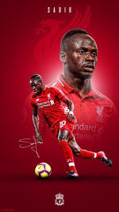 Sadio Mane Wallpaper Salah Liverpool, Liverpool Players, Liverpool Football Club, Goat Football, Best Football Team, Liverpool Fc Wallpaper, Liverpool Wallpapers, Liverpool Champions, World Cup