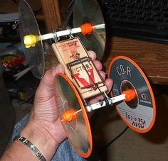 Simple mouse trap car with instructions