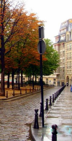 Quiet Paris street