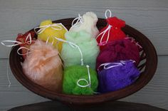 Handy Scrubby Bags by MaryGateNaturals on Etsy, $3.00