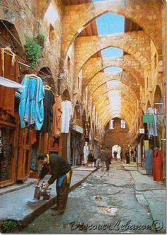Tripoli old souk Lebanon