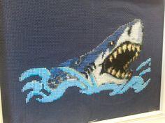Pixel Crochet Blanket, Canvas Bags, Cross Stitch Animals, Shark Week, Whales, Plastic Canvas, Perler Beads, Dinosaurs, Dolphins