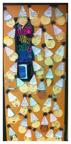 Step into 2nd Grade with Mrs. Lemons: New Year's Activity with template