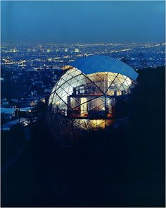 Photographer: Julius Shulman, Dome House (1962).