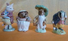 Selection of Royal Albert Beatrix Potter Figurines, via Flickr.