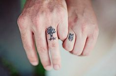 matching tattoos | Tree & Hoot <3