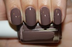 essie Don't Sweater It -this is one of my favorite colors! I've gotten so many complements about it.