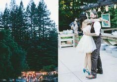 Indie Santa Cruz wedding | 100 Layer Cake