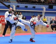 제20차 태권도세계선수권대회 제2일경기 진행