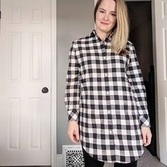 First make of the year is finished! Woo! And in the knick of time for #shirtmonth. I've been wanting to make this one for awhile... it's an Archer-Alder mashup and I love it! #grainlinestudio #archershirtdress #canadasews #hamiltonsews #handmadecloset #ednasewsclothes2018dearednahamiltonsews,shirtmonth,handmadecloset,archershirtdress,grainlinestudio,canadasews,ednasewsclothes2018