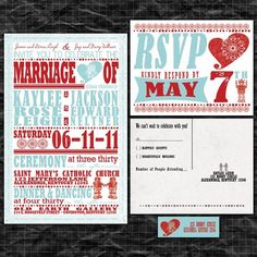 robot wedding invitations