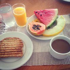 Snídaně - Rio Grapefruit, Food, Essen, Meals, Yemek, Eten