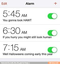 What my alarm should be every morning, lmao