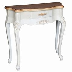 Cream Hall Table black & cream stripe painted hall console table | funky hand