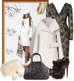 """Winter elegance"" by milica-b3 on Polyvore"