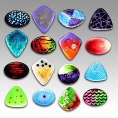 Enamel Cabochons: Fun with Color and Light This would be a fun class to take!