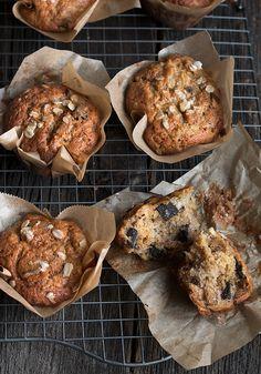 Banana Chocolate Chunk Muffins