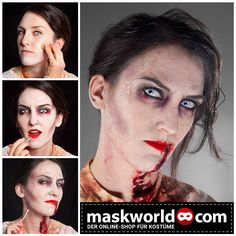 #halloween #horror #makeup #mua #zombie #zombies