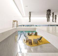Arquitetura vira arte. Veja mais: https://casadevalentina.com.br/blog/detalhes/arquitetura-vira-arte-2800 #details #interior #design #decoracao #detalhes #decor #home #casa #design #idea #ideia #art #arte #casadevalentina #livingroom #saladeestar