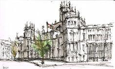 Ayuntamiento Madrid, sketch